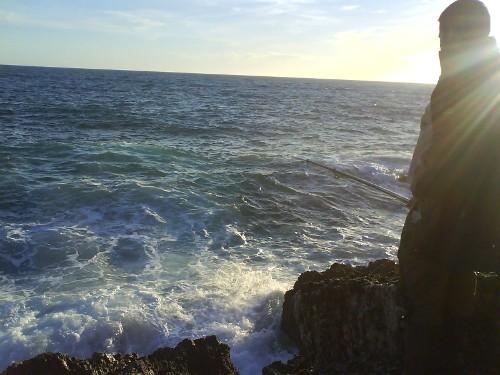 El mar y Javi
