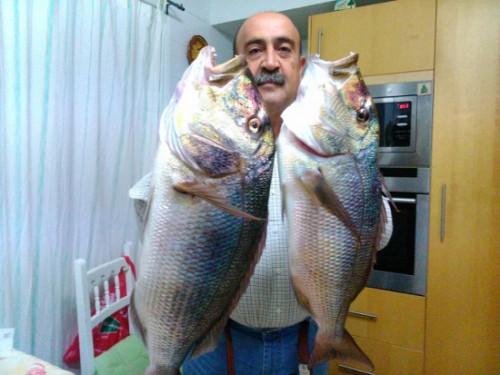 El doblete, como veis las pista de la pesquera son fáciles, jajajaj